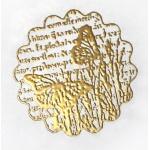 Пудра для эмбоссинга, цвет золотое зеркало
