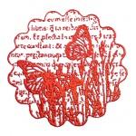 Пудра для эмбоссинга, цвет красный мак