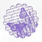 Пудра для эмбоссинга, цвет фиалка