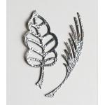 Пудра для эмбоссинга, цвет серебряный доллар