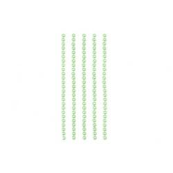 Половинки жемчужин на клеевой основе 4мм, 125шт