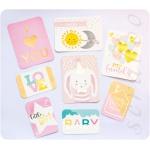 """Набор карточек с фольгированием """"Little baby"""", 8 шт"""