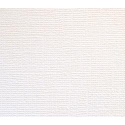 Кардсток c текстурой холста, белый