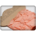 Шебби ленточка, персиковый, 10мм, 1м
