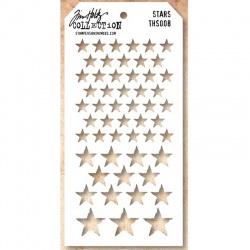 "Маска Tim Holtz  ""Stars"""