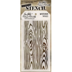 "Маска Tim Holtz  ""Woodgrain"""