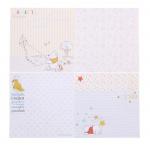 """Набор бумаги """"Наше Маленькое чудо"""", Медвежонок Винни 14,5х14,5 см, 12 листов"""
