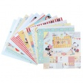 """Набор бумаги """"Летние денечки"""", Микки Маус, 29,5х29,5 см, 12 листов"""