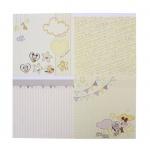 """Набор бумаги """"Мои первый годик"""", Микки Маус, 29,5х29,5 см, 12 листов"""