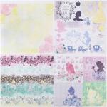 """Набор бумаги """"Сказка вокруг нас"""", Принцессы, 29,5х29,5 см, 12 листов"""