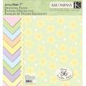 """Набор бумаги K&Company """"Animal Tales"""" 30х30 см, 12 листов"""