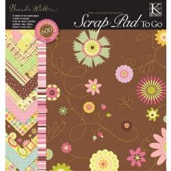 """Набор бумаги K&Company """"Brenda Walton"""" 30х30 см, 15 листов"""