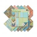 "Набор бумаги K&Company ""Sea Glass"" 30х30 см, 12 листов"
