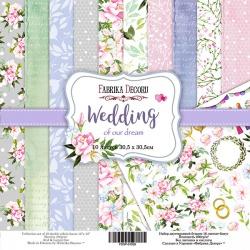 "Набор бумаги ""Wedding of our dream"", 30x30см"