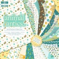 "Набор бумаги  ""Animal antics"", 30х30 см, 48 листов"