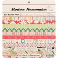 "Набор бумаги October Afternoon ""Modern Homemaker"", 20х20 см, 34 листа"