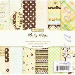 "Набор бумаги ""Baby Steps"", 15х15 см, 36 листов"