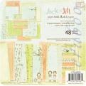 """Набор бумаги Prima """"Jack & Jill"""", 15х15 см, 48 листов"""