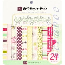 "Набор бумаги Echo Park Paper ""Springtime"", 15х15 см, 24 листа"