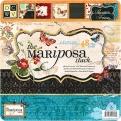 "Набор бумаги  ""Mariposa"", 30х30 см, 24 листа"