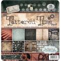 """Набор бумаги  """"Tattered Time"""", 30х30 см, 24 листа"""