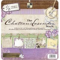 """Набор бумаги  """"Chateau Lavender"""", 30х30 см, 24 листа"""