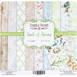 "Набор бумаги ""Smile of Spring"", 20х20см, 10 листов"
