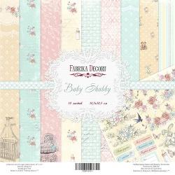 "Набор бумаги ""Baby Shabby"", 30х30см, 10 листов"