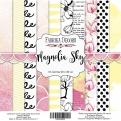 """Набор бумаги """"Magnolia Sky"""", 20х20см, 10 листов"""