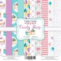 """Набор бумаги """"Candy Shop"""", 20х20см, 10 листов"""