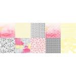 """Набор бумаги """"Magnolia Sky"""", 30х30см, 10 листов"""