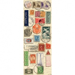 "Наклейки K&Company ""Life's Journey Stamps"""