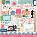 Стикеры Sew Lovely, 30х30см