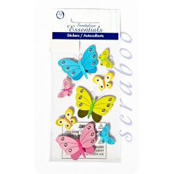 "Наклейки Sandylion Essentials ""Butterflies & Rhinestones"