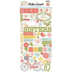 Стикеры Sisters Echo Park