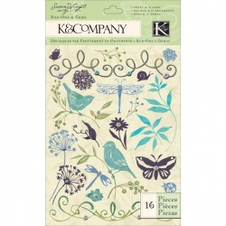 "Натирки K&Company ""Susan Winget Botanical"""