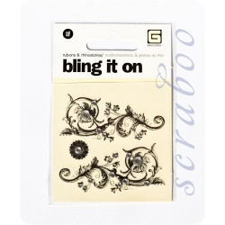 "Натирки ""Bling It On"" со стразами"