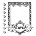 """Штамп """"Love"""""""