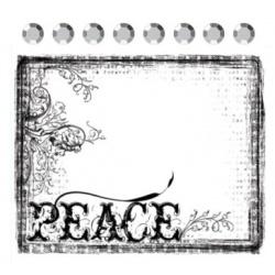 "Штамп ""Peace"""