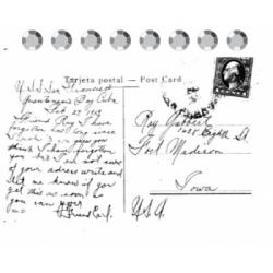 "Штамп ""Postcard"""