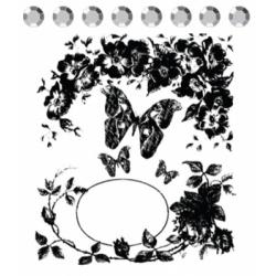 """Набор штампов """" Butterfly vine"""""""