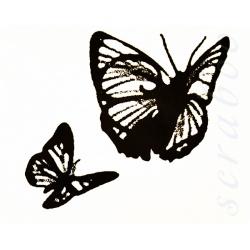 "Штамп Tim Holtz ""Бабочки"""