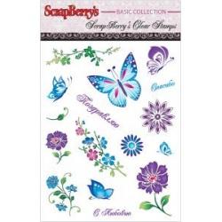 "Набор штампов ""Бабочки"""