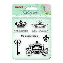 """Набор штампов """"Версаль. Король и Королева"""""""