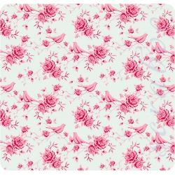 Ткань Tilda fabric birdteal, 50х70 см