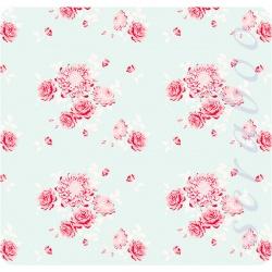 Ткань Tilda fabric Garden Teal, 50х70см
