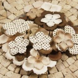Набор цветов Prima коричневый микс, 24 шт