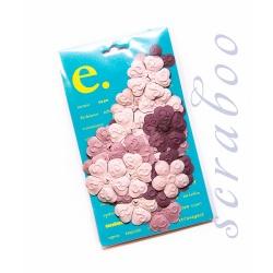 Набор цветов Prima фиолетовый микс, 24 шт
