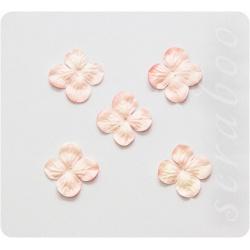 Гортензия светло-розовая, 30мм, 20шт