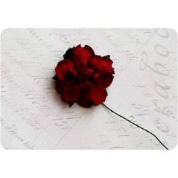 Темно-красная роза, 35 мм, 1шт